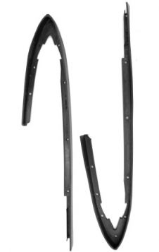 1968 Cadillac (EXCEPT Eldorado) Rear Quarter to Bumper Rubber Fillers 1 Pair REPRODUCTION Free Shipping In The USA