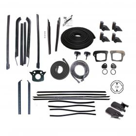 1970 Cadillac Deville Convertible Advanced Rubber Weatherstrip Kit (37 Pieces) REPRODUCTION Free Shipping In The USA