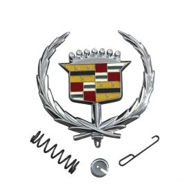 1971 1972 1973 1974 1975 1976 1977 1978 Cadillac Eldorado Hood Emblem REPRODUCTION Free Shipping In The USA