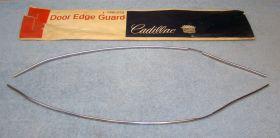 1971 1972 1973 Cadillac Coupes EXCEPT Eldorado Door Edge Guards NOS Free Shipping In The USA