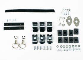1971 1972 1973 1974 1975 1976 Cadillac Convertible Hard Boot Complete Mounting Hardware and Clip Kit REPRODUCTION Free Shipping In The USA