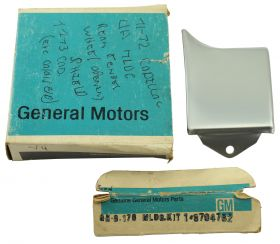 1971 1972 1973 Cadillac (See Details) Molding Kit Rear Extension Driver's Side (Left Side) NOS Free Shipping In The USA