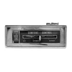 1965 Cadillac (EXCEPT Series 75 Limousine) Climate Control Head Unit REBUILT Free Shipping In The USA