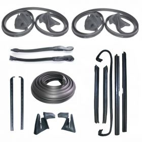 1971 1972 1973 Cadillac Eldorado Convertible Advanced Rubber Weatherstrip Kit (14 Pieces) REPRODUCTION Free Shipping In The USA