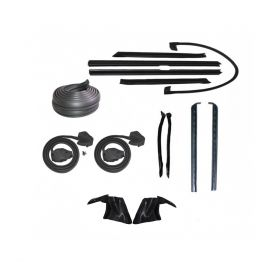 1974 Cadillac Eldorado Convertible Advanced Rubber Weatherstrip Kit (14 Pieces) REPRODUCTION Free Shipping In The USA