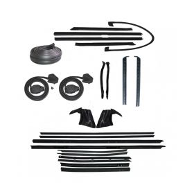 1974 Cadillac Eldorado Convertible Deluxe Rubber Weatherstrip Kit (24 Pieces) REPRODUCTION Free Shipping In The USA