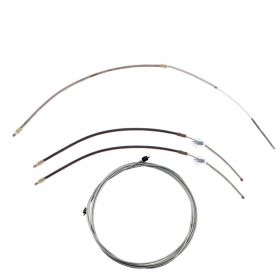1975 1976 Cadillac Calais And Deville Emergency Brake Cable Set (4 Pieces) REPRODUCTION Free Shipping In The USA