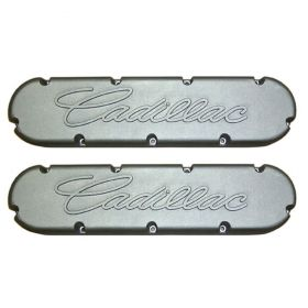 1968 1969 1970 1971 1972 1973 1974 1975 1976 1977 1978 1979 1980 1981 1982 1983 1984 Cadillac Flat Top Valve Covers With Raised Script (See Details For Colors) 1 Pair REPRODUCTION Free Shipping In The USA