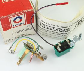 1976 1977 1978 1979 Cadillac (ALL Models with Pulse) Wiper Switch & Pulse Relay Set NOS FREE Shipping in the USA.
