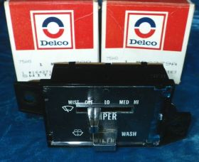 1977 1978 1979 1980 1981 1982 1983 1984 Cadillac (see details) Wiper Switch NOS Free Shipping In The USA.