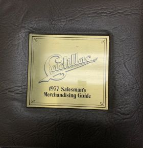 1977 Cadillac Merchandising Guide USED Free Shipping In The USA