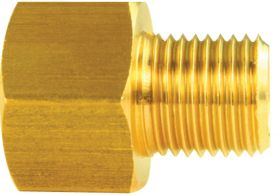 Cadillac (5/16 Male to 3/8 Female) Hard Line Adapter Fitting REPRODUCTION