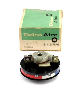 1971 1972 1973 Cadillac Air Conditioning Temperature Control Dial Potentiometer NOS Free Shipping In The USA