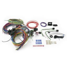 Universal 20-Circuit 12-Volt Wiring Harness Kit REPRODUCTION Free Shipping In The USA