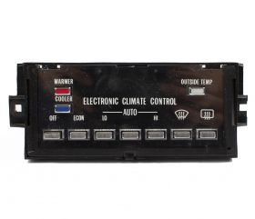 1986 1987 1988 1989 Cadillac Rear Wheel Drive (RWD) Fleetwood Climate Control Head Unit (WITH Defog) REFURBISHED Free Shipping In The USA