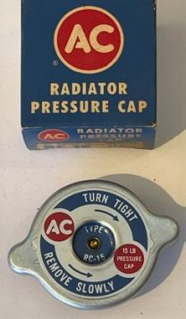 1960 1961 1962 1963 1964 1965 1966 1967 1968 Cadillac (See Details) Radiator Pressure Cap NOS Free Shipping In The USA