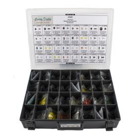Cadillac Universal Weatherstrip Retainer Assortment Box (1155 Pieces) REPRODUCTION Free Shipping In The USA