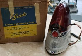 1954 1955 1956 Cadillac (See Details) Driver Side Tail Light Lamp Assembly NOS Free Shipping In The USA