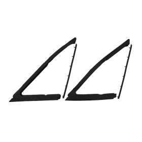 1963 1964 Cadillac Convertible Front Door Vent Window Rubber Weatherstrip Kit (4 Pieces) REPRODUCTION Free Shipping In The USA