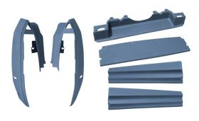 1990-1991-1992-cadillac-deville-fleetwood-rear-body-filler-kit-6-pieces-reproduction-free-shipping-in-the-usa