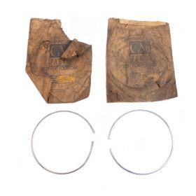 1936 (Series 50 LaSalle) 1938 1939 Cadillac Headlight Door Rings 1 Pair NOS Free Shipping In The USA