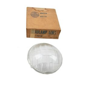 1938 1939 Cadillac (See Details) Driver Side Glass Headlight Lens NOS Free Shipping In The USA