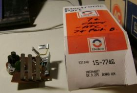 1974 Cadillac Automatic Temperature Control Circuit Board Amplifier Assembly NOS Free Shipping In The USA