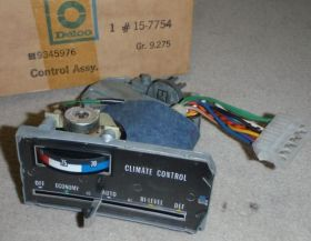 1974 1975 Cadillac Series 75 Limousine Climate Control Head Unit REFUBISHED Free Shipping In The USA