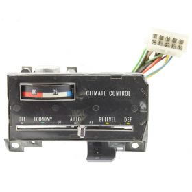 1974 1975 Cadillac (See Details) Climate Control Head Unit REFURBISHED Free Shipping In The USA