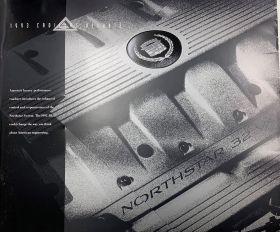 1993 Cadillac Allante Deluxe Sales Brochure NOS