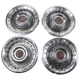 1956 Cadillac Wheel Cover Hubcaps Set B Quality (4 Pieces) USED