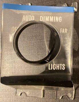 1973 1974 1975 1976 1977 1978 Cadillac Auto Dimming  Headlight Dash Plastic Bezel Guide-Matic NOS Free Shipping In The USA