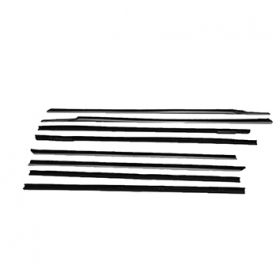 1969 1970 Cadillac 2-Door Hardtop Window Sweep Set (8 Pieces) REPRODUCTION Free Shipping In The USA