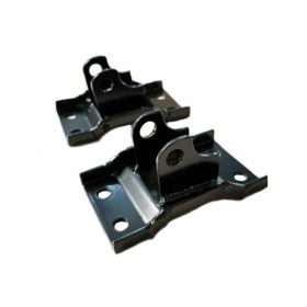 1961 1962 Cadillac Convertible Top Cylinder Floor Mount Bracket 1 Pair REPRODUCTION Free Shipping In The USA