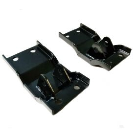 1959 1960 Cadillac Convertible Top Cylinder Floor Mount Bracket 1 Pair REPRODUCTION Free Shipping In The USA