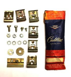 Cadillac Molding Clips Set of 20 Pieces NOS Free Shipping In The USA