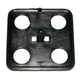 Cadillac 2-Inch Square Hood Insulation Clip REPRODUCTION