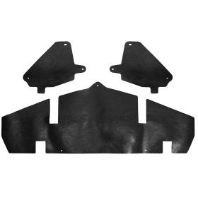 1969 1970 Cadillac Radiator To Bumper Filler Kit (3 Pieces) REPRODUCTION Free Shipping In The USA