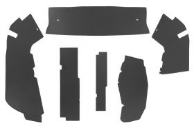 1954 1955 Cadillac Series 75 Limousine Trunk Side Panels (6 Pieces) Panelboard With Binding (See Details for Color Options) REPRODUCTION