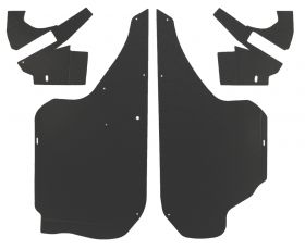 1958 Cadillac 62 Series Convertible Trunk Side Panel (4 pieces) Panelboard (See Details For Color Options) REPRODUCTION