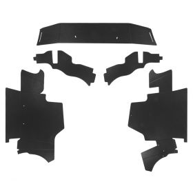 1960 Cadillac Fleetwood Series 60 Special Double Black Trunk Side Panels (5 Pieces) REPRODUCTION