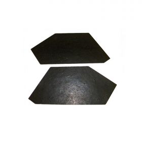 1958 Cadillac Inner Front Fender To Frame Rubber Filler 1 Pair REPRODUCTION Free Shipping In The USA