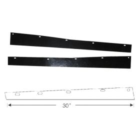 1968 Cadillac Rear Bumper To Trunk Filler 1 Pair REPRODUCTION Free Shipping In The USA