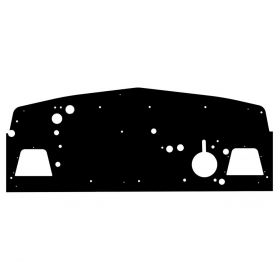 1942 1946 1947 Cadillac Series 62 Molded Firewall Insulator Panel (Type 2) REPRODUCTION Free Shipping In The USA