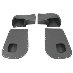 1954 1955 1956 Cadillac Front Door Heater Cardboard Duct In Kick Panels (4 Pieces) REPRODUCTION Free Shipping In The USA