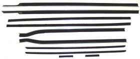 1959 1960 Cadillac Convertible Window Sweep Set (10 Pieces) REPRODUCTION Free Shipping In The USA