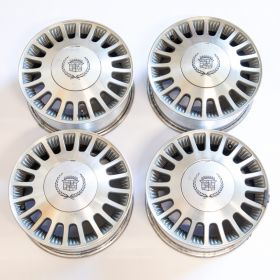 1990 1991 1992 1993 1994 1995 1996 1997 1998 Cadillac (See Details) Wheel Rim Set (4 Pieces) USED