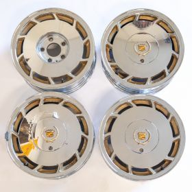 1992? Cadillac (See Details) Wheel Rim Set (4 Pieces) USED