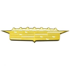 1956 Cadillac Front Fender Emblem Crest REPRODUCTION Free Shipping In The USA