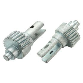 1965 1966 1967 1968 Cadillac (See Details) Vent Window Motor Drive Gear 1 Pair REPRODUCTION Free Shipping In The USA